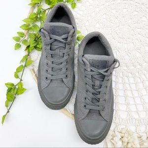 Converse All Star High Street Gray Canvas Sneakers
